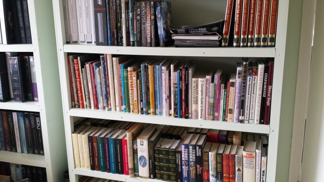 Bookcases and our books