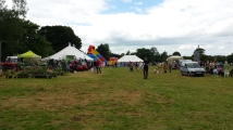 People enjoying the fayre