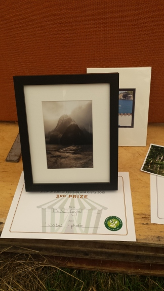 3rd Prize for D in Photography (Water)