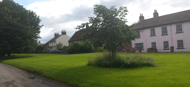 Houses on village green