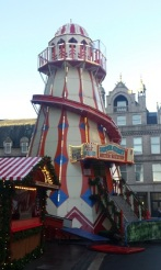 Pink and white helter skelter