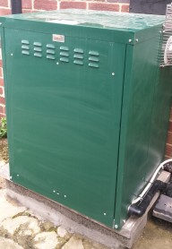 Green outdoor boiler