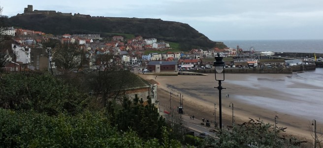 Scarborough town, seafront and castle
