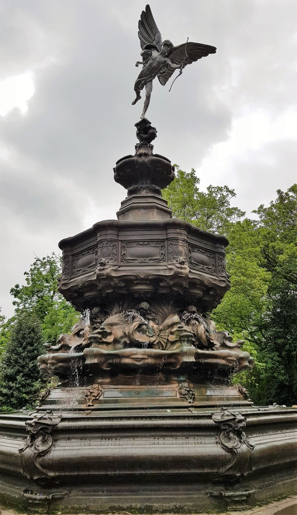 Fountain with Eros on top